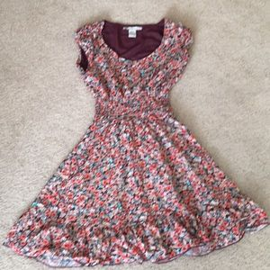 American rag dress size small beautiful colors.